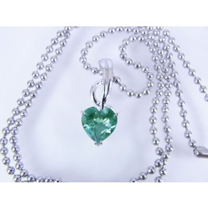 アレキサンドライト Corundum - 8mm Heart *グラマラスシリーズ* アニバーサリーペンダントトップ【6月 誕生石】【即納】|alljewelry|04