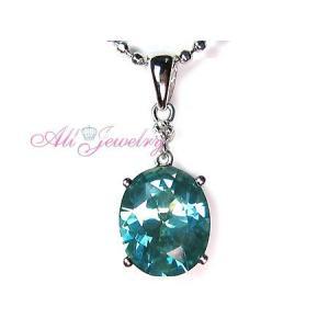 キャンディカラー'パイナップル' ミスティックCZ& 天然 ダイヤモンドオーバル ペンダント トップ【数量限定セール】|alljewelry