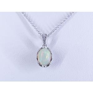 0.47CTオパールのネックレス|alljewelry