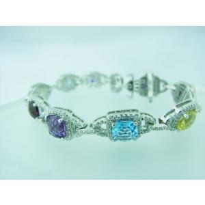 カラーストーン マルチブレスレット|alljewelry