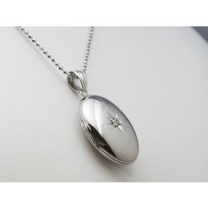 ロケットペンダント ペンダント トップ 小判型[大]18金イエローゴールド 御光彫|alljewelry