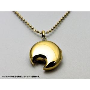 ロケットペンダント ペンダント トップ 14金月型[小] alljewelry 05