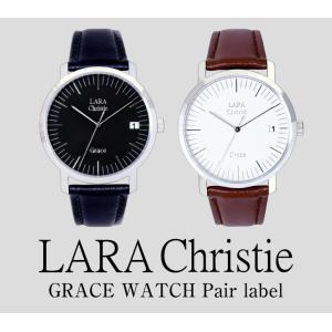ララクリスティー LARA Christie グレース Grace 腕時計 ペアレーベル[ PAIR Label ] 【送料無料】【即納】【プレゼン|alljewelry