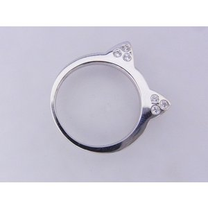 【mimiring】ミミリング プレミアム(10KWG×ダイヤモンド)|alljewelry