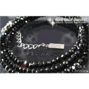 ララクリスティー LARA Christie [ BLACK Label ブラックレーベル] スピネル ネックレス 【送料無料】【即納】【バレンタイ|alljewelry
