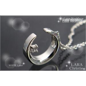 ララクリスティー LARA Christie ルナ ネックレス [ WHITE Label ホワイトレーベル] 【送料無料】【即納】【プレゼントに最|alljewelry