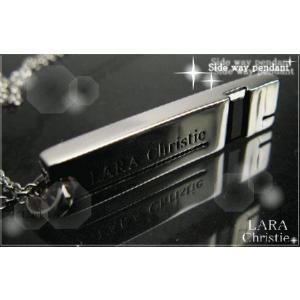 ララクリスティー LARA Christie サイドウェイ ネックレス [ BLACK Label ブラックレーベル] 【送料無料】【即納】【バレン|alljewelry
