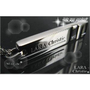 ララクリスティー LARA Christie サイドウェイ ネックレス [ WHITE Label ホワイトレーベル] 【送料無料】【即納】【バレン|alljewelry