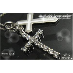 ララクリスティー LARA Christie ラブツインズ ネックレス [ WHITE Label ホワイトレーベル] 【送料無料】【即納】【プレゼ|alljewelry
