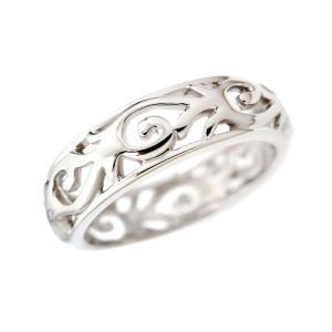 ステンレス 透かしアラベスク リング|alljewelry