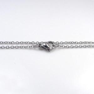 ステンレス チェーン 丸アズキ [幅1.0mmタイプ]【即納】|alljewelry|02