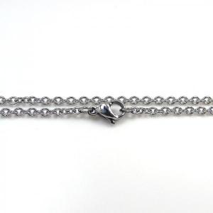 ステンレス チェーン 丸アズキ [幅1.3mmタイプ]【即納】|alljewelry