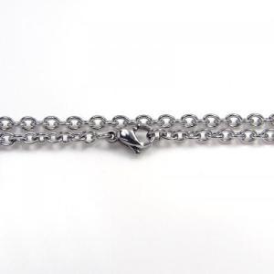 ステンレス チェーン 丸アズキ [幅3.1mmタイプ]【即納】|alljewelry