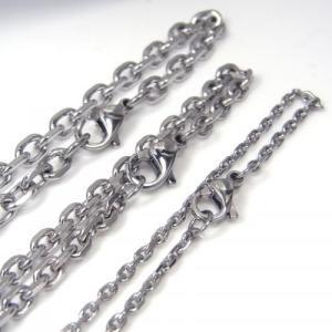ステンレス チェーン アズキ 4面 [幅4.1mmタイプ]【即納】 alljewelry 03