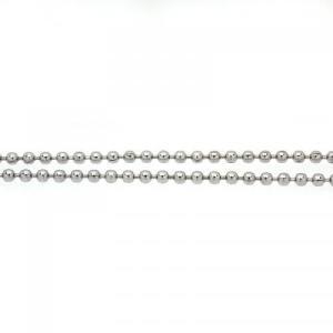 ステンレス チェーン ボールチェーン100cm [幅2.0mmタイプ]【即納】|alljewelry