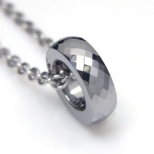タングステン ペンダント トップ 3mm幅 シルバー【即納】 alljewelry