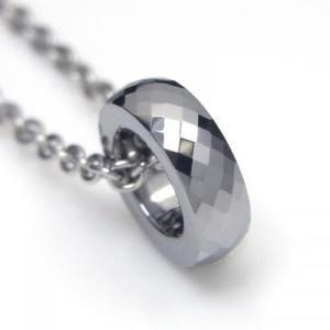 タングステン ペンダント トップ 3mm幅 シルバー【即納】 alljewelry 02