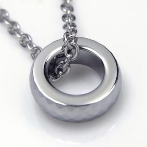 タングステン ペンダント トップ 3mm幅 シルバー【即納】 alljewelry 03