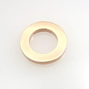 ステンレス ペンダント トップ スモールサークル ピンク【即納】|alljewelry
