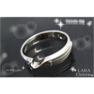 ララクリスティー LARA Christie ヴィクトリア リング (指輪) [ WHITE Label ホワイトレーベル] 【送料無料】【即納】【|alljewelry|02