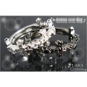 ララクリスティー LARA Christie アントワープ クロス ペアリング(指輪) [ PAIR Label ペアレーベル] 【送料無料】【即納|alljewelry