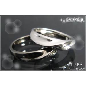 ララクリスティー LARA Christie イルヴェント ペアリング(指輪) [ PAIR Label ペアレーベル] 【送料無料】【即納】【ペア|alljewelry