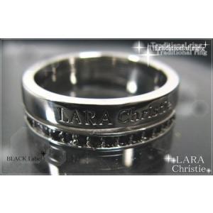 ララクリスティー LARA Christie トラディショナル リング [ BLACK Label ブラックレーベル] 【送料無料】【即納】【バレン|alljewelry