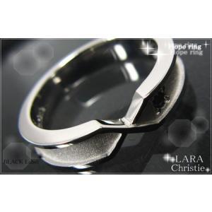 ララクリスティー LARA Christie ホープ リング [ BLACK Label ブラックレーベル] 【送料無料】【即納】【バレンタインデー|alljewelry|02