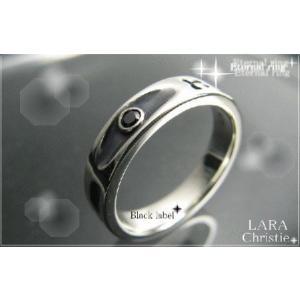 ララクリスティー LARA Christie エターナル リング[ BLACK Label ブラックレーベル] 【送料無料】【即納】【バレンタインデ alljewelry