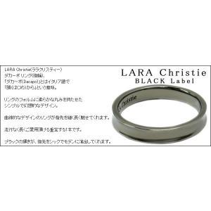 ララクリスティー LARA Christie ダカーポ リング [ BLACK Label ブラックレーベル] 【送料無料】【即納】【2012年秋冬|alljewelry|03