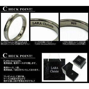 ララクリスティー LARA Christie ダカーポ リング [ BLACK Label ブラックレーベル] 【送料無料】【即納】【2012年秋冬|alljewelry|04