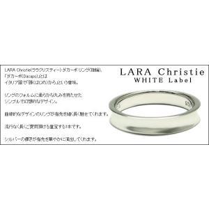 ララクリスティー LARA Christie ダカーポ リング [ WHITE Label ホワイトレーベル] 【送料無料】【即納】【2012年秋冬|alljewelry|03