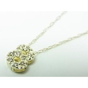 K10YGダイヤナンバーペンダントネックレス|alljewelry|03