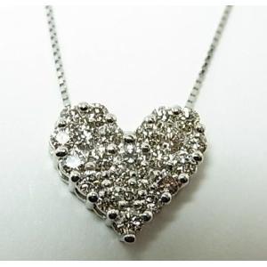 プラチナ ダイヤモンドペンダントネックレス 1,00CT|alljewelry