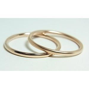 K10ピンクゴールド ペアリング|alljewelry