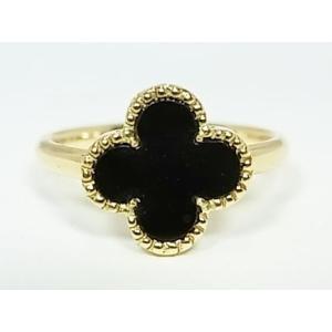 K18アルハンブラリング 【オニキス】|alljewelry
