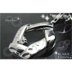 ララクリスティー LARA Christie リンケージ ストラップ [WHITE Label] 【送料無料】【即納】【バレンタインデーのプレゼント|alljewelry