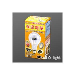 メーカー: ASAHI/旭光電機    シリーズ名: ヒヨコ保温電球      消費電力:40W(4...