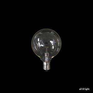 ☆アサヒ ボール球 クリヤー E12口金 直径50mm(G50) 40W G50 E12 100/110V-40W(C) alllight