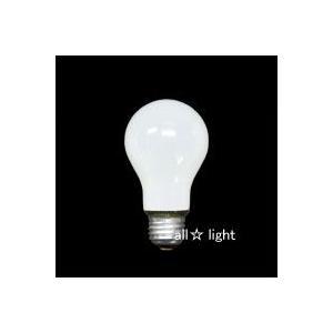 ☆アサヒ 一般球(一般電球) ホワイト 110V 100W形 E26口金 LW110V100W/60|alllight