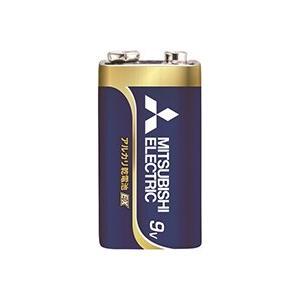☆三菱 POWERアルカリEX アルカリ電池 9V 角型 6LF22EXD/1S alllight