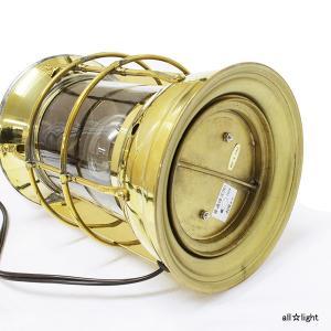 ☆ゴーリキアイランド テーブルランプ(ランタン) マスターヘッドライトS 白熱電球40Wまで 屋内用 真鍮磨き仕上げ(ゴールド) マスターヘッドライトS|alllight|03