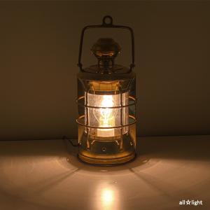 ☆ゴーリキアイランド テーブルランプ(ランタン) マスターヘッドライトS 白熱電球40Wまで 屋内用 真鍮磨き仕上げ(ゴールド) マスターヘッドライトS|alllight|05