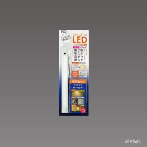 ☆ELPA LED多目的灯 Slim&Flat LEDライト 全長約30cm 5W 電球色 240lm ALT-1030IR(L)