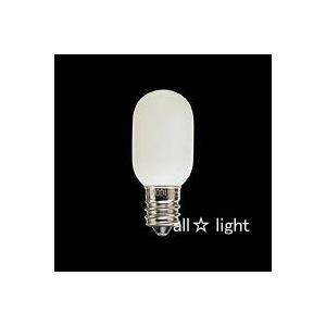 ☆東芝 ベビー電球(常夜灯用) E12口金 ホワイト 5W BABY100V5WTE alllight