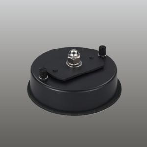 ☆東芝 LEDスポットライト用フランジ 黒 CF-08802|alllight