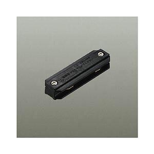 ☆DAIKO 直付専用型・直付・パイプ吊兼用型連結用ジョイナー フィードイン端子なし 黒 DP-36324|alllight