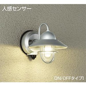 ☆DAIKO 人感センサー付 LEDアウトドアライト(ランプ付) DWP-39164Y