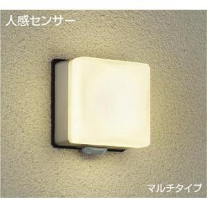 ☆DAIKO 人感センサー付 LEDアウトドアライト(LED内蔵) DWP-39651Y