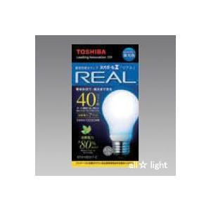 ☆東芝 電球形蛍光ランプ(蛍光灯) ネオボールZ リアル 40W形 A形 3波長形昼光色 E26口金 EFA10ED/7-Z alllight
